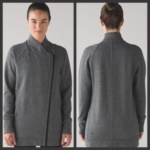 Lululemon Back To It Wrap Heathered Black 2